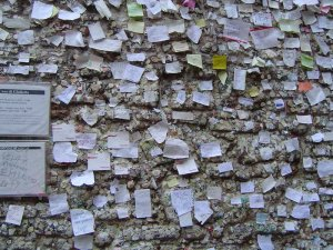 Love Note Requests on Juliet's Verona Italy