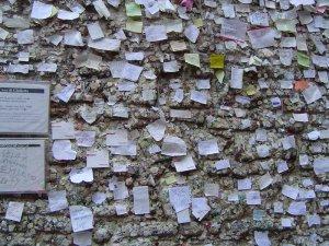 Love Note Requests on Juliet's Verona Italy